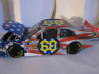 2013 Travis Pastrana 60 Mustang Usa Stars & Stripes Flag 1:24 Action Hood Open