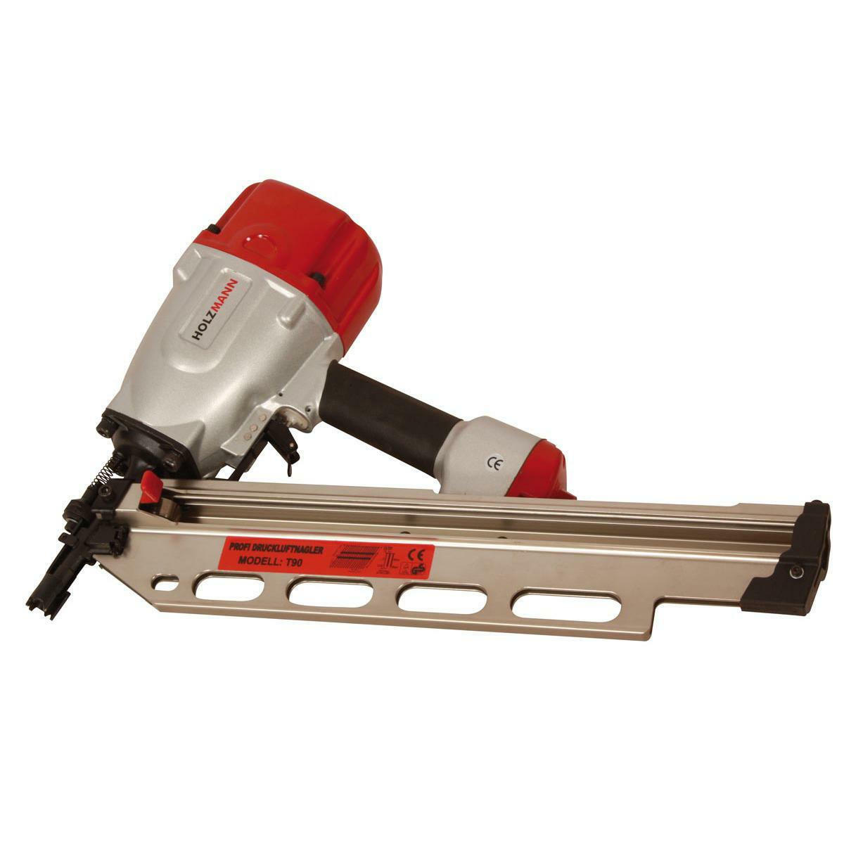Nagler pneumatische HOLZMANN T90 für nägel von 50/70/90mm Durchmesser 2,8/3,4mm