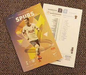 Tottenham-Hotspur-Spurs-v-Manchester-City-Matchday-Programme-2-2-2020