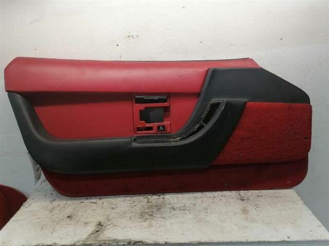Driver & Passenger Door Panels Read Leather Fits CORVETTE 1990 1991 751530