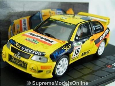 SEAT CORDOBA WRC LUKANDER RALLY MODEL CAR 1//43RD 1999 REPSOL TYPE Y0675J^*^