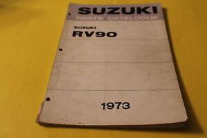 OEM-Suzuki-Parts-Catalogue-1973-RV90