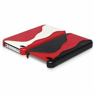 HOCO-Apple-iPhone-4-4S-Case-Cover-amp-Screen-Protector-Real-Leather-TPU-Shockproof