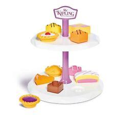 Mr Kipling Toy Cake Stand Afternoon Tea 2 Tier Stand Shape Sorter NEW Casdon
