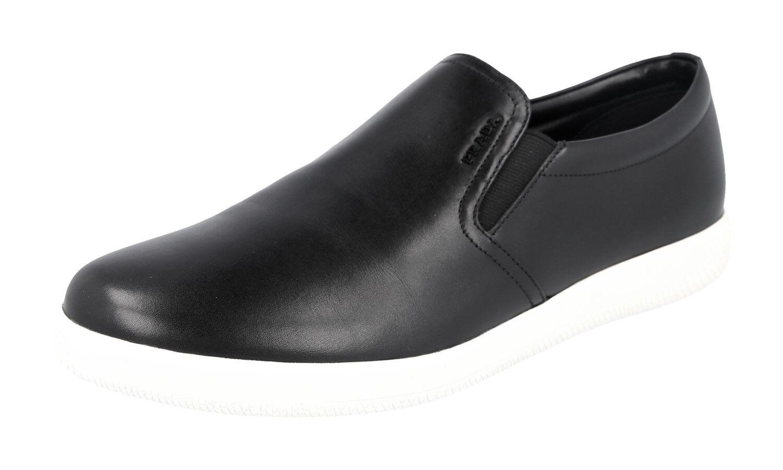 LUSSO Scarpe Prada scarpe da ginnastica 4d2776 Nero Nuovo 8 8 8 42 42,5 | Di Alta Qualità E Basso Overhead  7785f1