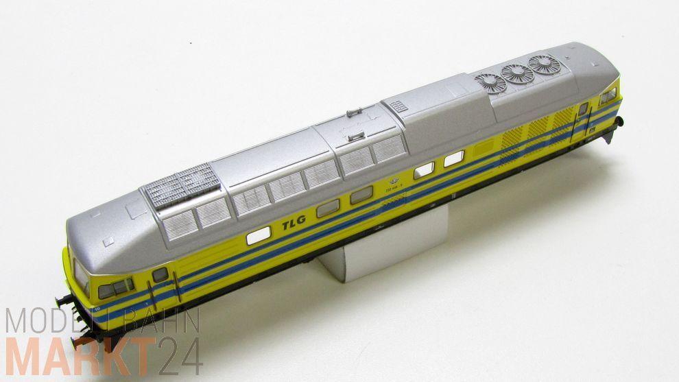 Chassis di di di ricambio Giallo Blu completo, ad esempio per Roco pezzi DIESEL BR 232 traccia TT Nuovo 3e6eee