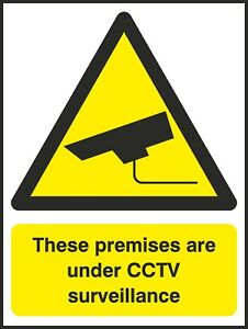 Premises-Have-CCTV-Sign-V6SECU0034-VAT-Invoice-Supplied