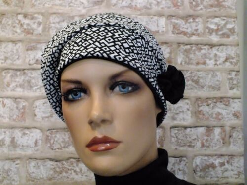 Leukemia,Cancer,Chemo, Reversible 2 in 1 Jersey Hat Head wear for Hair Loss
