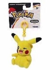 Pikachu TOMY Pokemon 3 Inch Plush Clip On