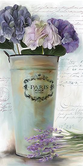 Carol Robinson  Paris Paris Paris Bouquet I IMMAGINE Telaio incastro TELA FIORI 5d26b3