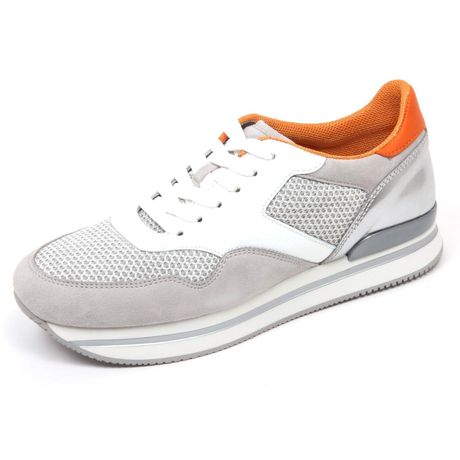 C7514 sneaker scarpa donna HOGAN H222 scarpa sneaker bianco/grigio shoe woman e6f175