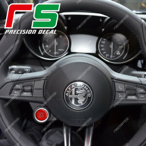 ADESIVI-decal-alfa-romeo-Giulia-Stelvio-tasto-start-sticker-carbonlook