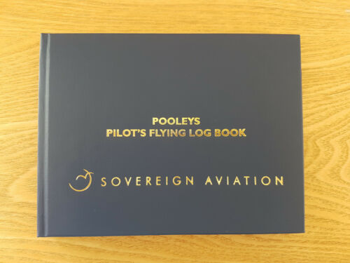 Private Pilot Logbook JAR Pilot Log Book - Sovereign Aviation/Pooleys (new)
