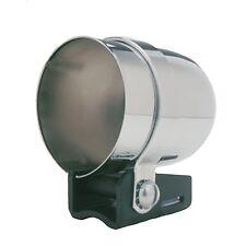 "Auto Meter 2203 Gauge Mount 2 1/16"" Pedestal w/ Chrome Cup"