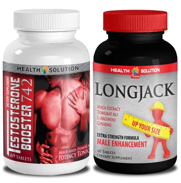 Longjack & Testosterone Booster T742 (1+1 Bottle)
