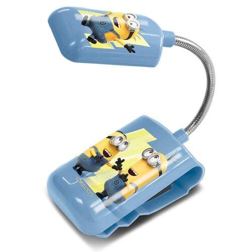 Méprisable Me sbires 3 en 1 DEL Lit Lampe Clip Flexible Kids