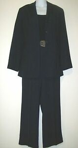 EUC-New-York-CO-3-PC-Suit-Set-Blazer-Shirt-Pants-in-Navy-Blue-6-MDFE