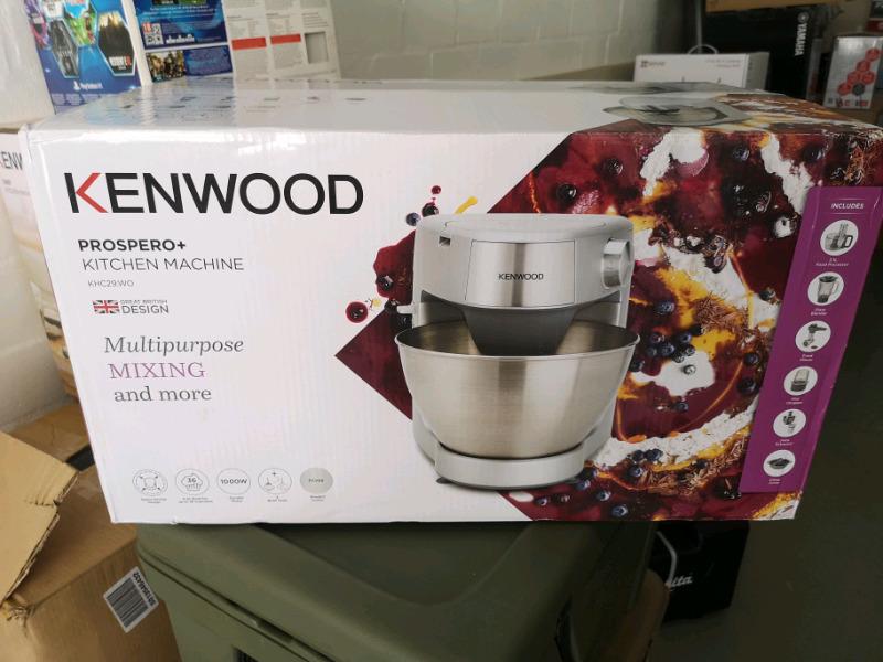 Kenwood Prospero Plus Stand Mixer KHC29.WOSI brand new sealed in box.