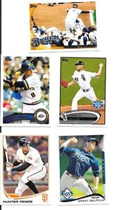 Sports Trading Cards & Accessories 2010 2011 2012 2013 2014 2015 Topps w/Inserts Complete Your Set You Pick 10 Lot