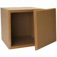 Knock-down Mdf 0.67 Ftâ³ Subwoofer Cabinet on sale