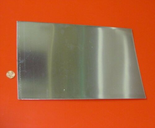 """316 Stainless Steel Sheet  Annealed .010/"""" Thick x 8.0/"""" Width x 12.0/"""" Length"""