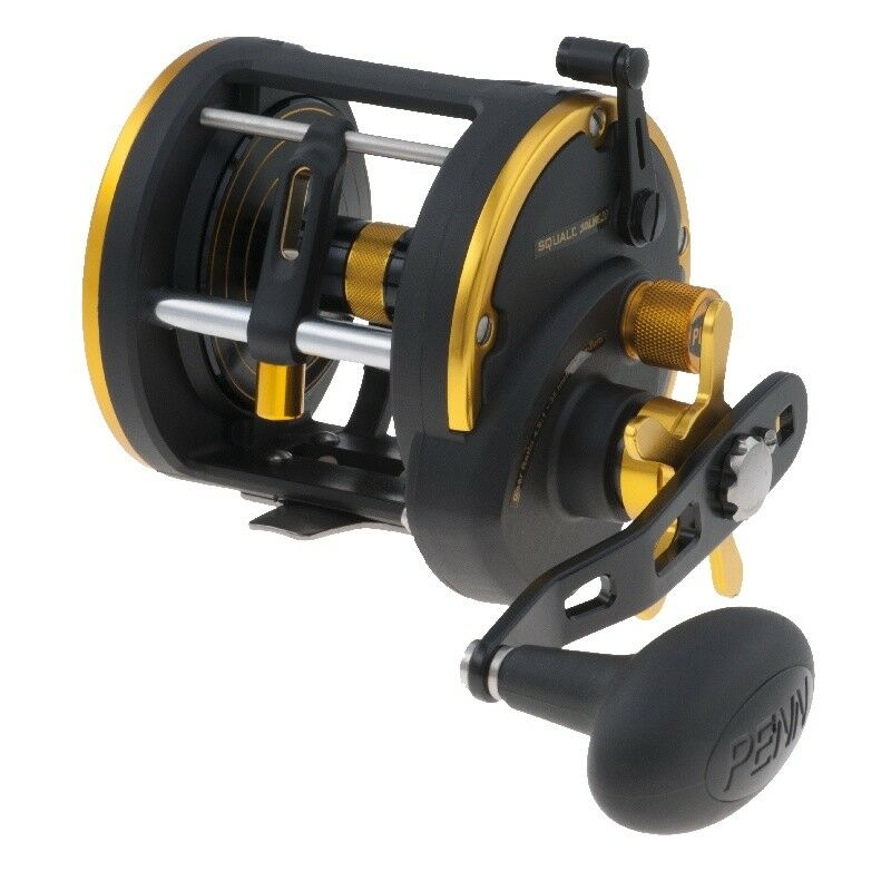 PENN SQUALL 20 LEVELWIND ROLLE LH REEL BOX 380M/0,41MM MULTI ROLLE LEVELWIND LINKSHAND SHA 4ff8d5