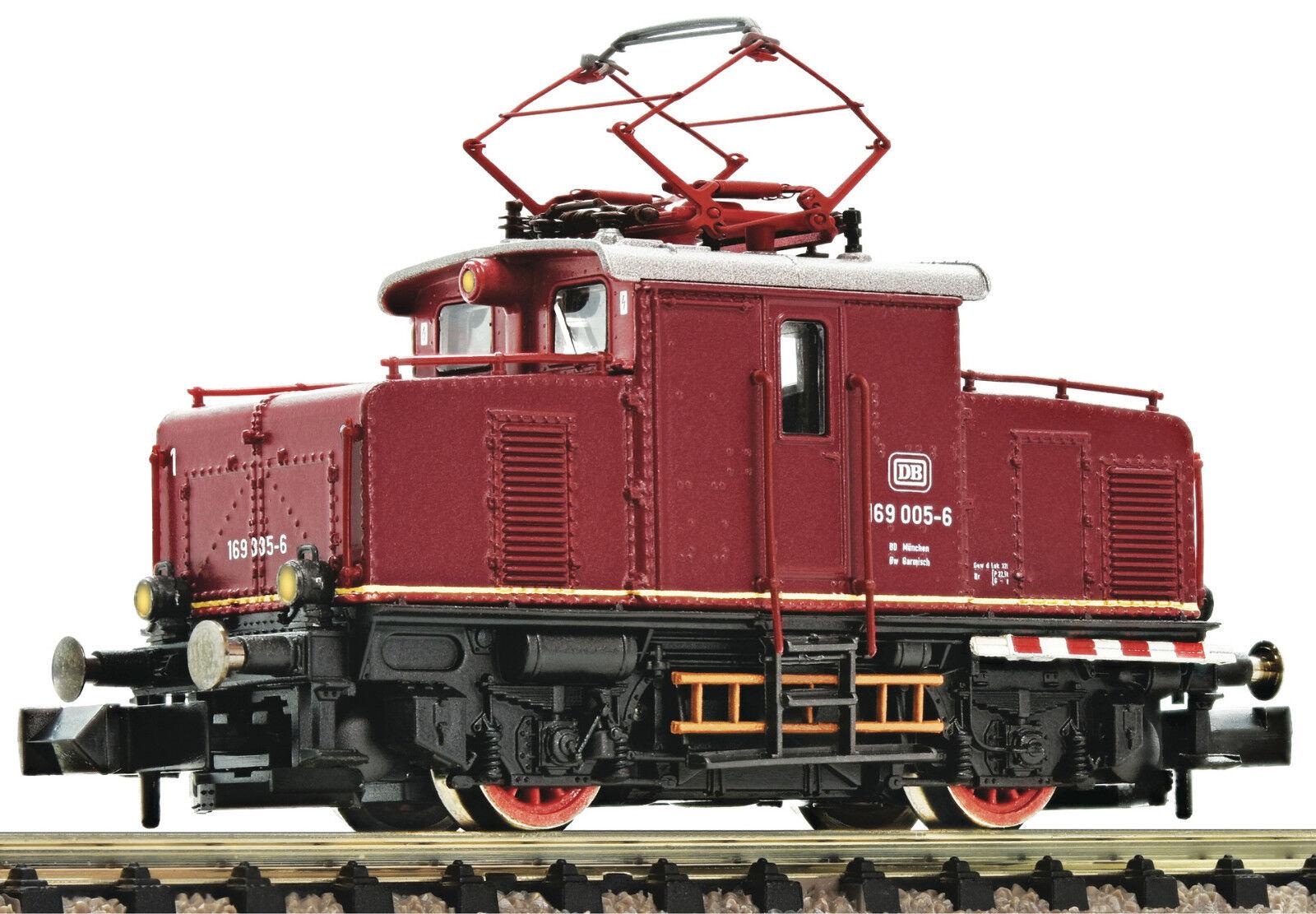 Fleischmann 737106 Locomotora Eléctrica Br 169 005-6 DB Ep.IV Rojo Nueva Pista N