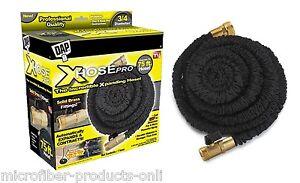 Details about Xhose PRO 75ft X Hose Original Expanding Hose Black with ...