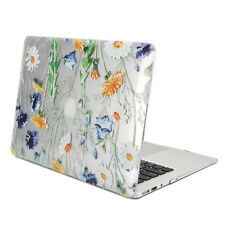 Hard Case Print Glossy for MacBook Air 13 -  Clear Crystal Floral Pattern