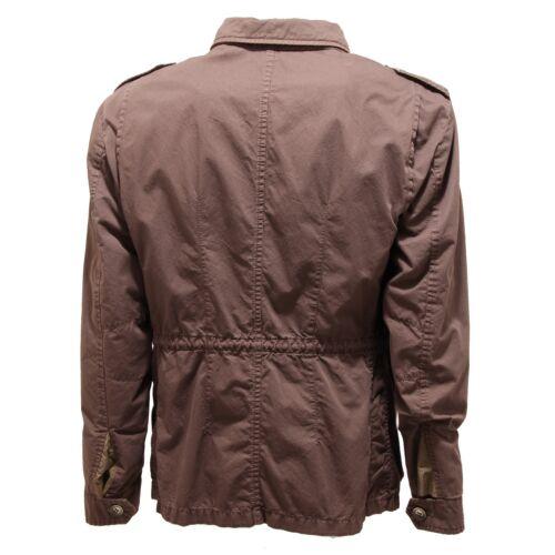 Men Cotone Uomo Giubbotto Jacket 2228o Marrone Hevo' 0xBYp11qw