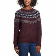 Weatherproof Vintage Ladies/' Fairisle Sweater Size/&Color VARIETY!!! NEW!!