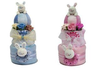 Baby-boy-girl-nappy-cake-baby-shower-gift-maternity-new-born-rabbit-chime-ball