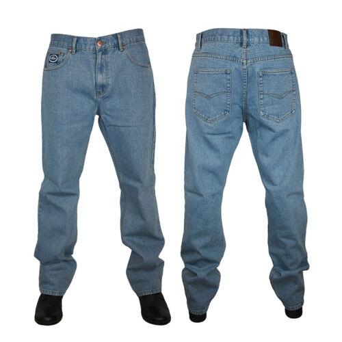 Da Uomo Grande Alto di base regolare Gamba FORGE Jeans Heavy Duty Workwear all/'interno gamba 31//32