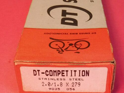 NOS 269 mm Box DT Swiss 14 // 16 Competition  spokes 100