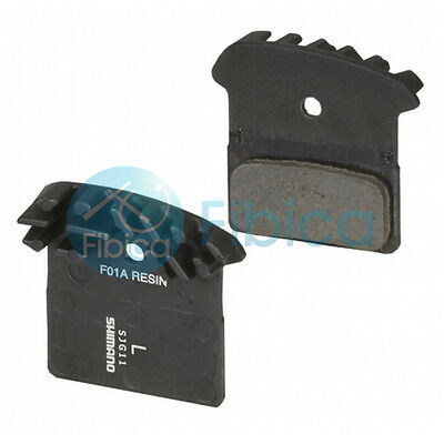 Shimano F01A Resin Cooling Fin Ice Disc Brake Pads XT M785 SLX M675 Deore M615