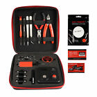 Coil Master V3 DIY Kit for DIY Coil Jig with Japanese Organic Cotton Tool kit