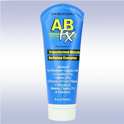 BODY-FX AB-FX (8 oz) transdermal topical fat burner carnitine ripped hard abs