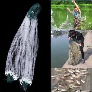 Fishing Fish Mesh Trap Monofilament Gill Net Netting Tackle Outdoor 8M x 0.8M