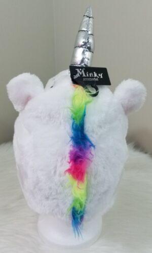 Novelty Kids Unicorn Costume Hat Winter Plush Scarf