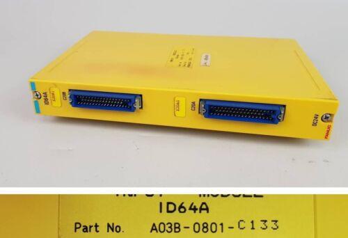 Pp5068 módulos input fanuc id64a a03b-0801-c133