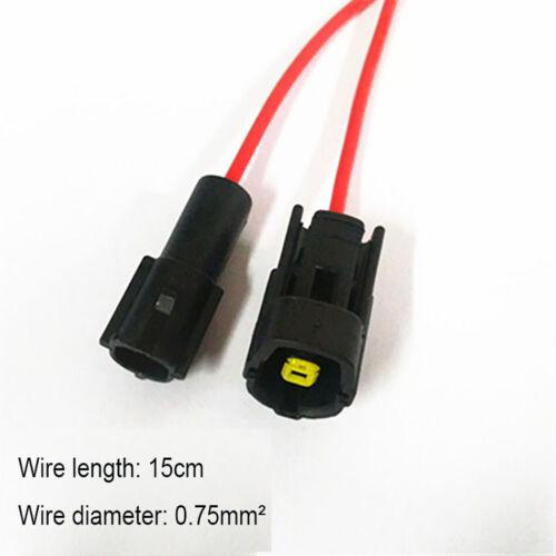 1.8 Wasserdichter elektrischer Stecker Buchse Klemme Kabelsatz Auto Auto 1P-16P