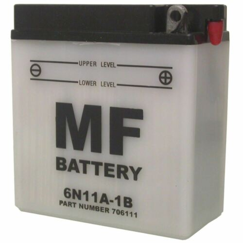 L:120mm x H:129mm x W:60mm Battery 6N11A-1B