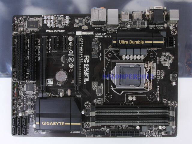 Gigabyte GA-Z87-HD3 Motherboard LGA 1150/Socket H3 DDR3 Intel Z87