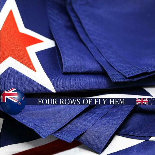 G128 New Zealand Flag3x5 feetPrinted 150D