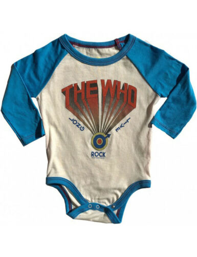 6-12 months The Who Rowdy Sprout Infant Baby Bodysuit Babygrow Clothes