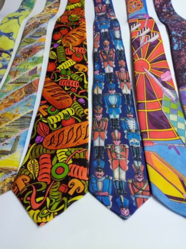 New Tie RALPH MARLIN Perfect Gift Made in USA RRP £14.95