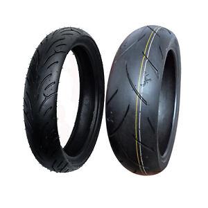 F R Motorcycle Tires 120 70 17 200 50 17 Ebay