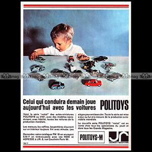 POLITOYS-METAL-SERIE-M-1966-Pub-Publicite-Ad-Advert-Advertising-A1494