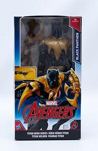 Hasbro-B6149-Marvel-Avengers-Black-Panther-Actionfigur-30-cm-mit-Waffe-NEU-OVP