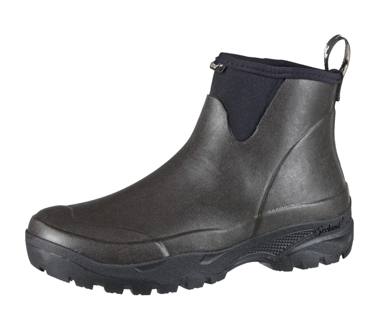 Seeland Rubber shoes Rainy Men - Dark Brown - 4 mm Neoprene